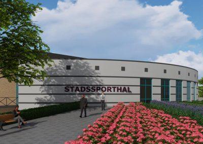 Architectenbureau Verbruggen | Stadssporthal Sittard