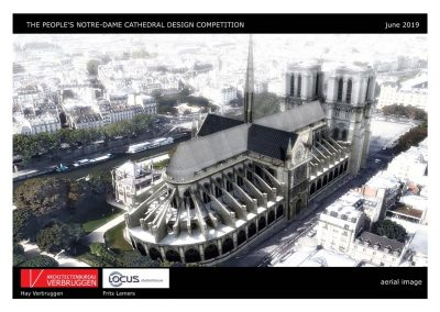 Architectenbureau Verbruggen | prijsvraag Notre Dame Paris